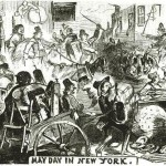 May Day in New York 1856