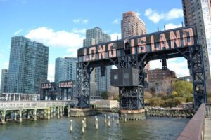 Long Island City gantry